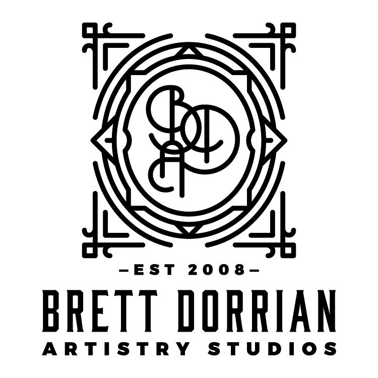 Brett Dorrian Artistry Studio Logo
